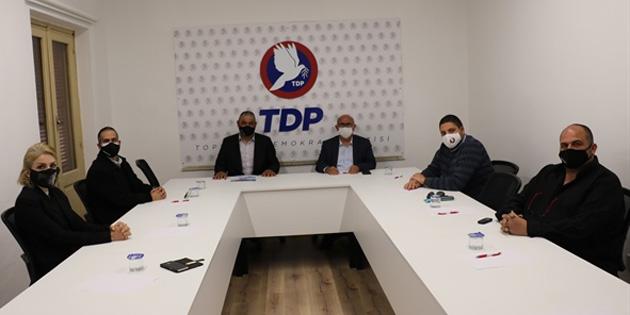 TDP Genel Başkanı Özyiğit, Memur Sen heyetini kabul etti