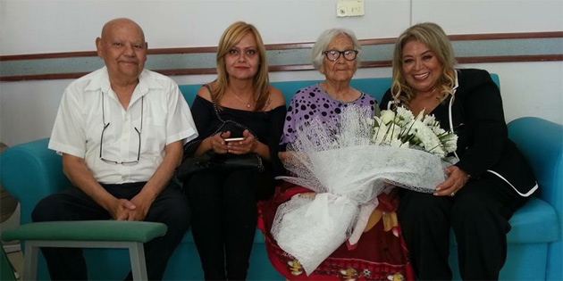 GKK personeli, Kezban Gönyeli'yi ziyaret etti