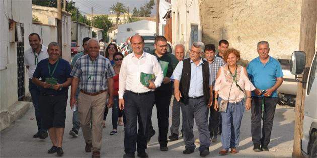 CTP, Minereliköy'ü ziyaret etti