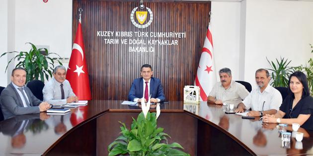 'YERLİ ÜRETİCİYİ KORUMAK ÖNCELİĞİMİZ'