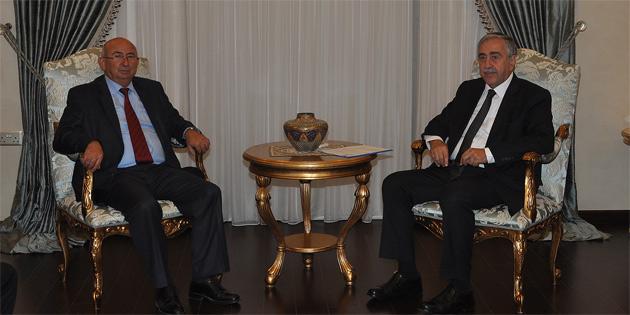 TDP Genel başkanı Özyiğit ile bir araya geldi