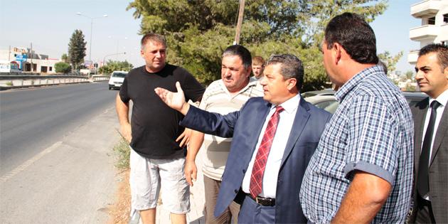 Dürüst, Demirhan'daki yol sorunu için girişim başlattı