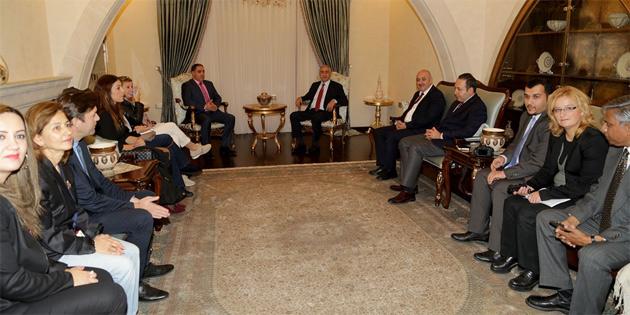 Cumhurbaşkanı Akıncı, yabancı gazetecilere brifing verdi