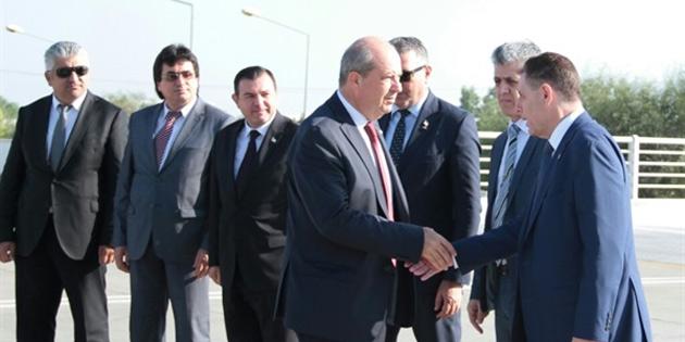 Başbakan Tatar İstanbul'a gitti