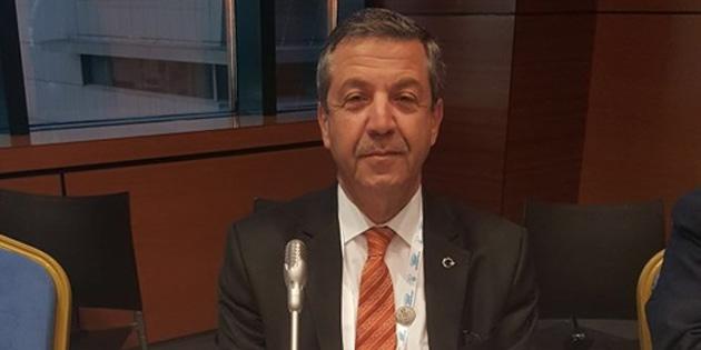 Dışişleri Bakanı Ertuğruloğlu, İİT Olağanüstü Zirvesinde