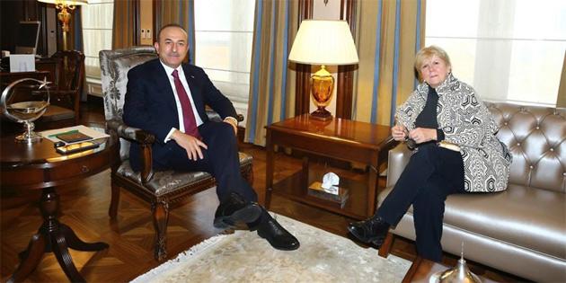 Çavuşoğlu, Lute ile görüştü