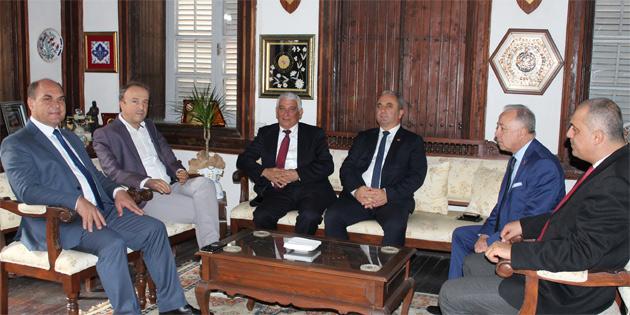 Avcılar Belediye Başkanı Hançerli, Özçınar'ı ziyaret etti