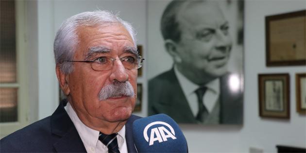 'Dr. Küçük, Kıbrıs Türkü'nün özgürlük mücadelesini başlatan kişidir'
