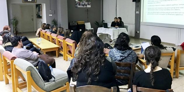 CTP kadın örgütü ve parti eğitim merkezin'den ortak eğitim