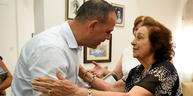 Harmancı Kıbrıs Türk Kadınlar Birliği'ni ziyaret etti