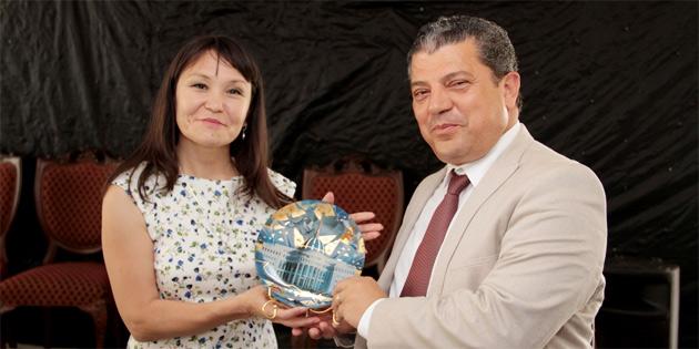 Bakan Dürüst, Türk Dili Konuşan Gazeteciler Vakfı ile yemekte bir araya geldi