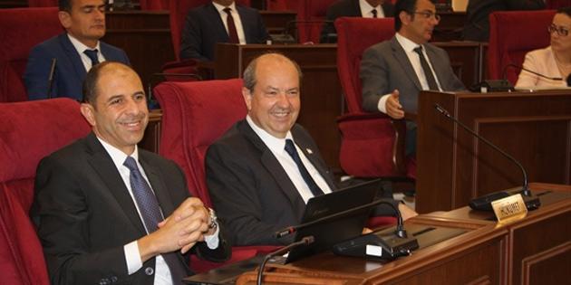 Meclis'te Cumhurbaşkanı Akıncı'nın açıklaması konuşuldu