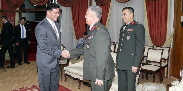 Başbakan Özgürgün Genelkurmay İkinci Başkanı Orgeneral Dündar'ı kabul etti