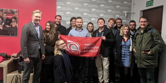 CTP Gençlik Örgütü Avrupalı genç sosyalistler başkanlık konseyi ve 25. yıl etkinliklerine katıldı