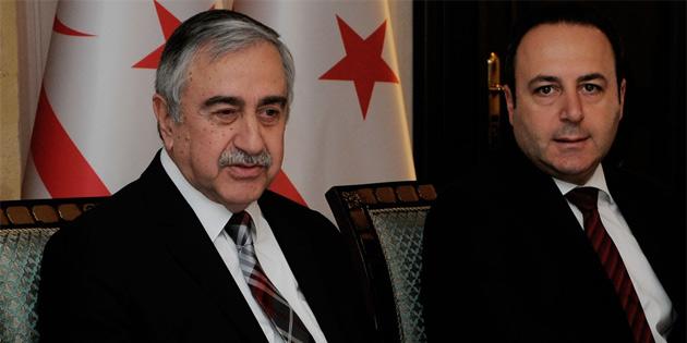 Cumhurbaşkanı Akıncı, yabancı parlamenterleri kabul etti