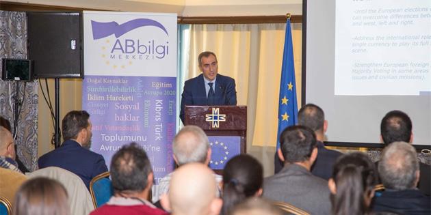 """""""Avrupa Birliği'nin durumu, 2019 öncelikleri ve ötesi"""" konulu sunum gerçekleştirildi"""