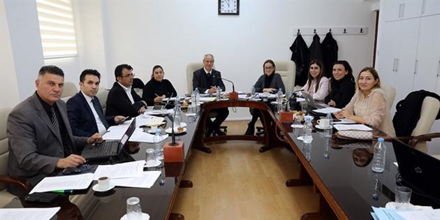 Cumhuriyet Meclisi Hukuk, Siyasi İşler ve Dışilişkiler Komitesi toplandı