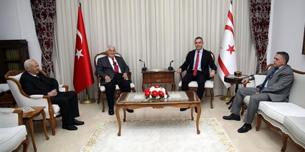Meclis Başkanı Uluçay, Parlamenterler Birliği'ni kabul etti