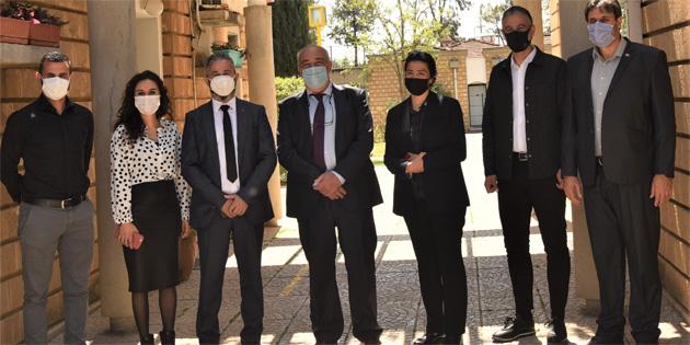 Çalışma Bakanı Çağman SOS Çocukköyü'nde incelemelerde bulundu
