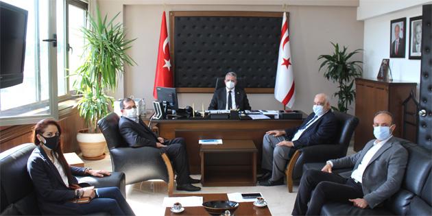 İçişleri Bakanı Evren, Mimarlar Odası'nı kabul etti