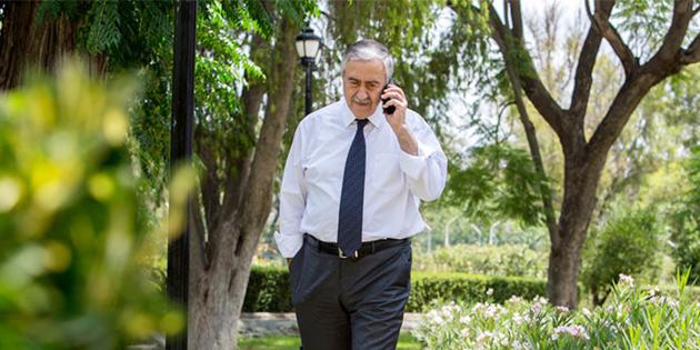 LUTE İLE TELEFONDA GÖRÜŞTÜ