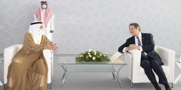 Anastasiadis ve beraberindeki bakanlar Bahreyn'de bir dizi temasta bulundu