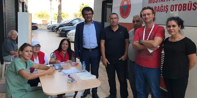 CTP Mağusa İlçesi gönüllüleri kan bağışında bulundu