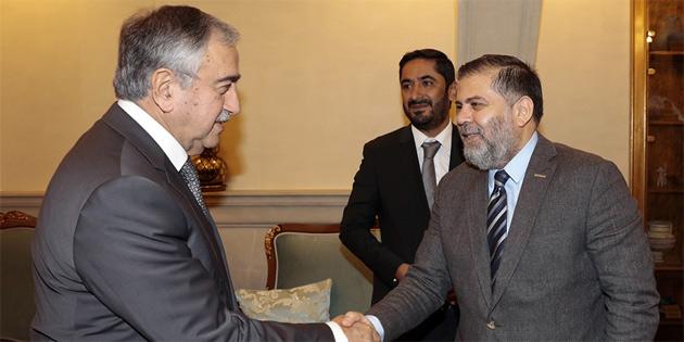 Cumhurbaşkanı Akıncı, MÜSİAD heyetini kabul etti