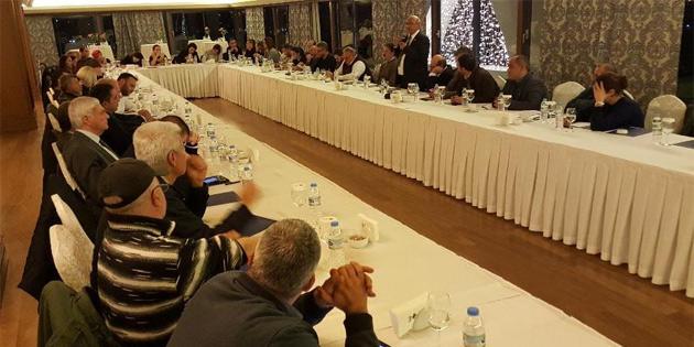 TDP, milletvekili adaylarıyla seçim sürecini görüştü