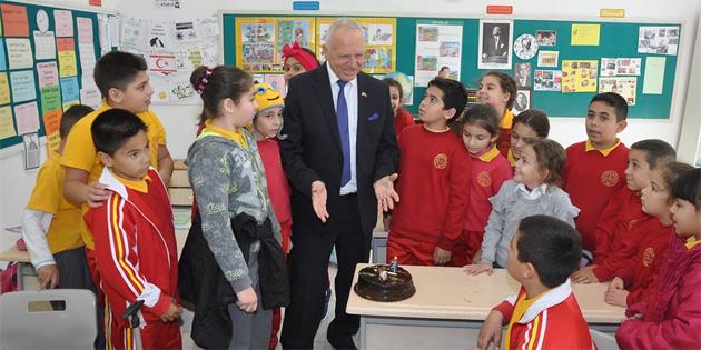 Cumhuriyet Meclisi Başkan Yardımcısı Töre, Pile'yi ziyaret etti