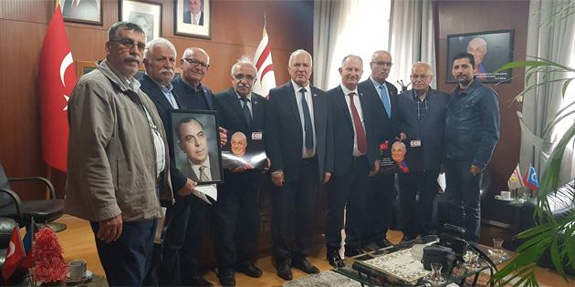Töre, Barış Harekatı'nda yer alan Türkiye'den bazı gazileri kabul etti