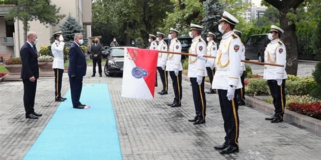 İçişleri Bakanı Kutlu Evren Ankara'da