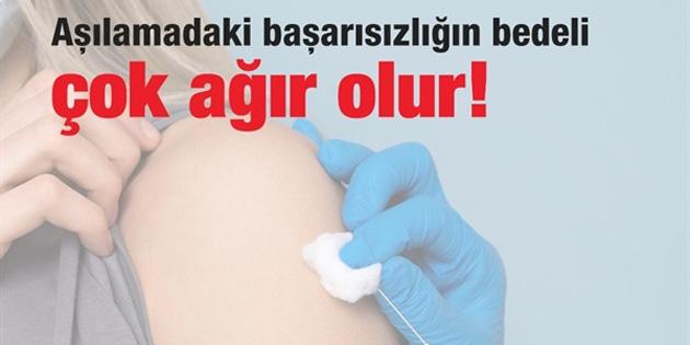 """CTP: """"Aşı yoksa ve aşılama olmazsa salgınla baş edemeyiz"""""""