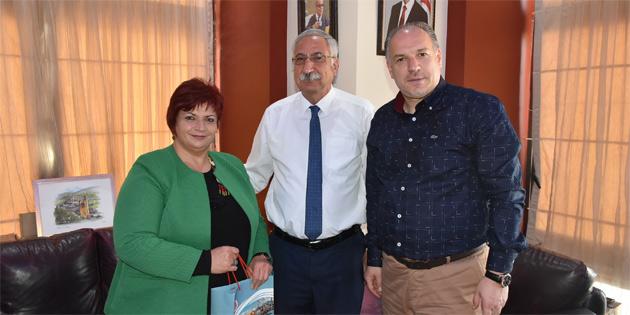 Güngördü, Kosova'dan bir heyeti ağırladı