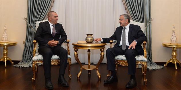 KKTOK Başkanı Kişmir, Cumhurbaşkanı Akıncı'yı bilgilendirdi