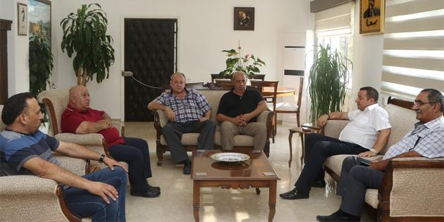 Başbakan Yardımcısı Denktaş, Kar-İş heyetini kabul etti