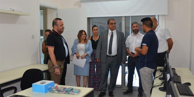 Sucuoğlu, Girne Gençlik Merkezi ve Gençlik Evi'ni ziyaret etti