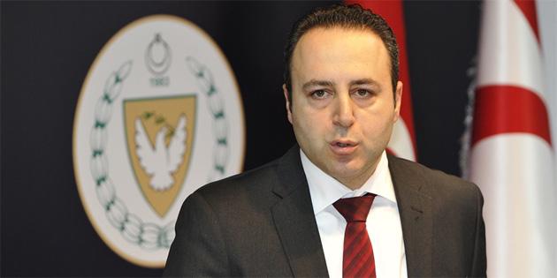 Erçin, görüştüğü BM ve bazı AB üyesi ülke temsilcilerine, Kıbrıs Türk tarafının endişelerini dile getiriyor