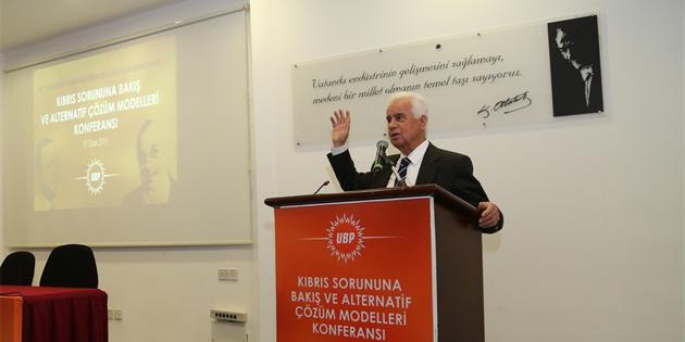 UBP, Dr. Küçük ve Denktaş için anma etkinliği ve konferans düzenledi