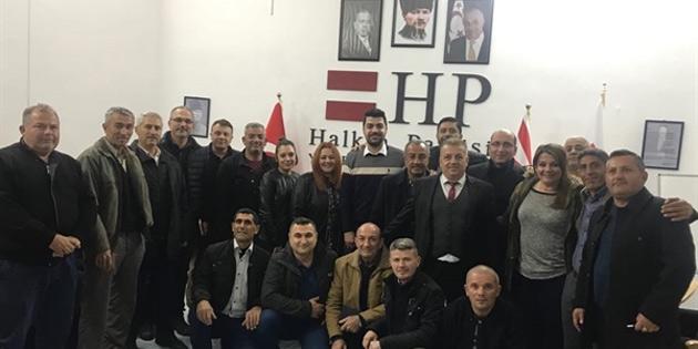 HP heyeti Yenierenköy'ü ziyaret etti