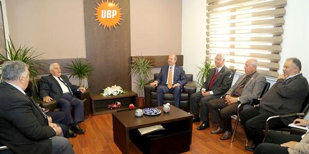 Milli Varoluş Konseyi'nden UBP'ye ziyaret