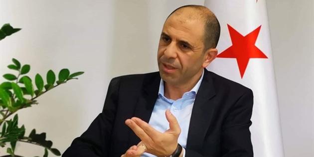 """Özersay:""""Türkiye'nin Kıbrıs politikasını şekillendirme imkanımız en önemli gücümüzdür"""""""