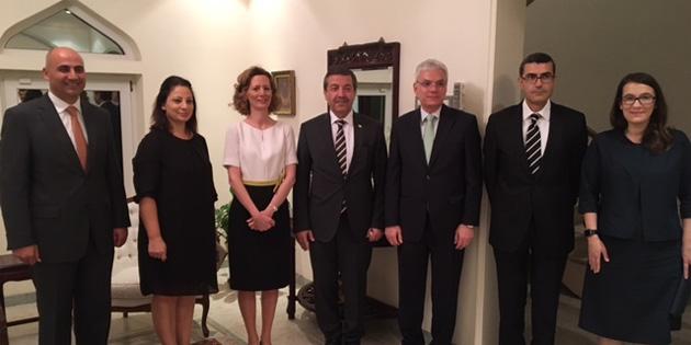 Dışişleri Bakanı Ertuğruloğlu körfez ülkelerinde temaslarda bulunuyor