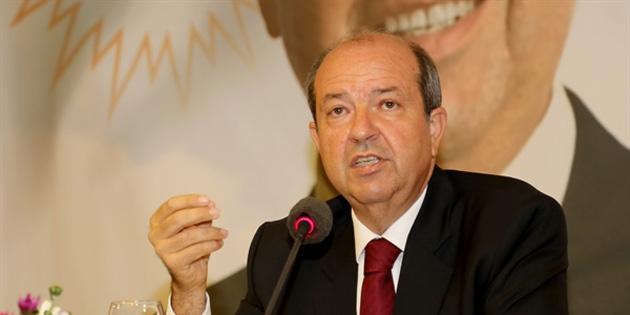 """UBP Genel Başkanı Tatar: """"Guterres'in Raporu, Kıbrıs konusunun çözümüne en küçük bir katı sağlayamayacak"""""""