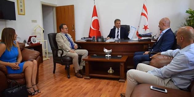 KTTO heyeti, Sağlık Bakanı Pilli'yi ziyaret etti