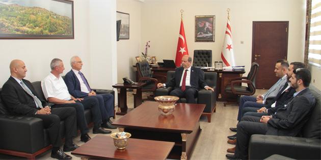 """Tatar: """"Kıbrıs Türk halkının bugünlere gelmesinde Türk Kızılay'ın önemi büyük"""""""