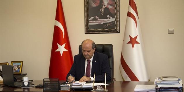 Başbakan Tatar yarın Ankara'ya gidiyor