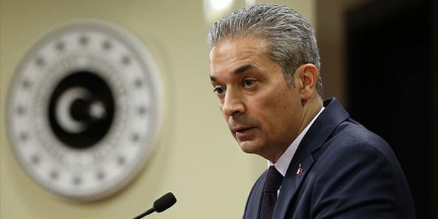 Aksoy: Kıbrıs konferansının başarısız olma sebebi Rum tarafıdır