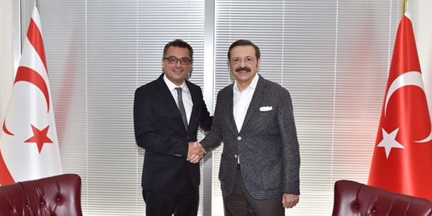 Başbakan Erhürman Hisarcıklıoğlu ile görüştü