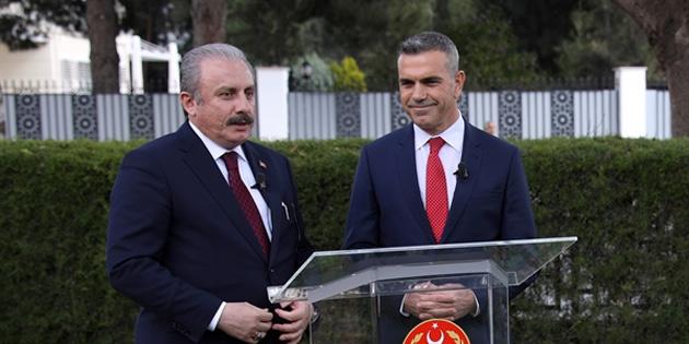 Uluçay, TBMM Başkanı Şentop'u arayarak operasyonun olumlu sonuçlarından duyduğu memnuniyetini dile getirdi